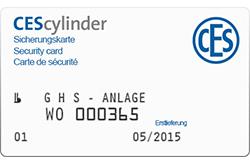CES Sicherungskarte